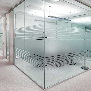 Frameless Partitions Glass